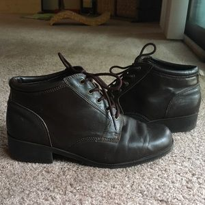Vintage Sporto Brown Ankle Boots